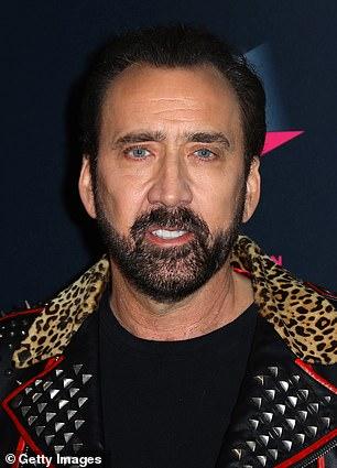Pictured: Nicolas Cage