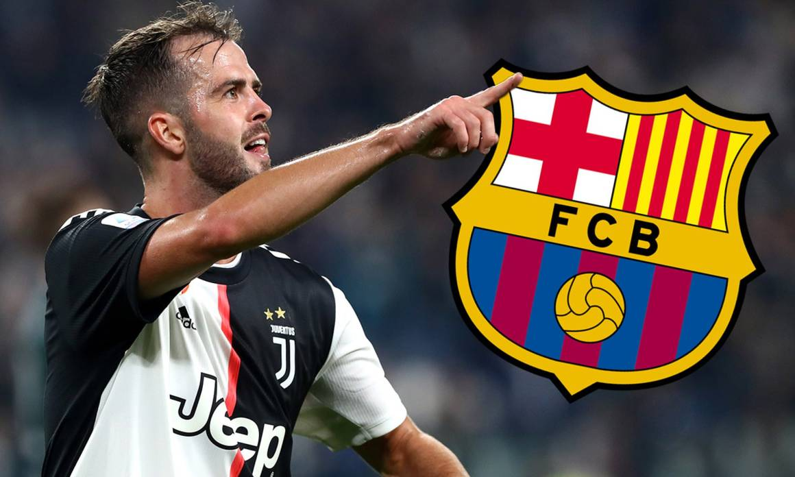 Juventus star Miralem Pjanic 'agrees to Barcelona move' with ...