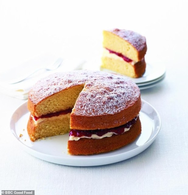 A classic gift! Victoria Sponge was the sixth most requested recipe as the British sought to prepare the traditional gift while trapped inside