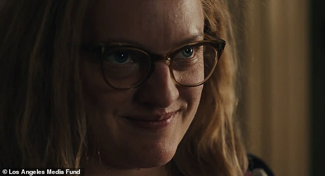 Coming soon: Meanwhile, Moss will next be seen as famed horror writer Shirley Jackson in the movie Shirley, set for release on Hulu, VOD and at drive -ins on June 5