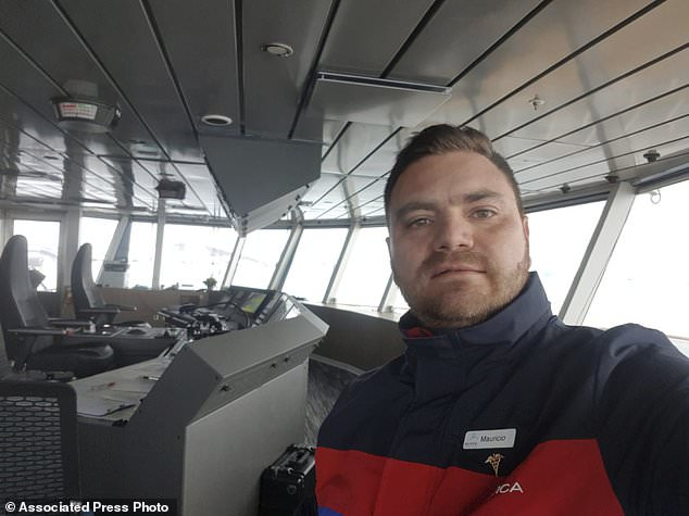 Dr. Mauricio Usme, he is aboard the Greg Mortimer. Dr. Usme said he had been pressured by the captain and other cruise lines and owners to change the health declaration to be accepted at ports. Over half of passengers and crew tested positive for COVID-19, including Dr. Usme