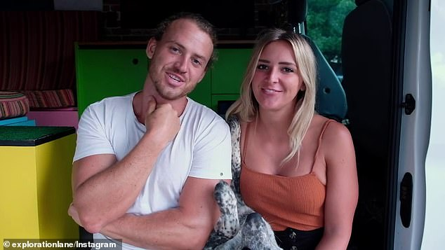 The couple explained that they do not want to bring Jackson to Australia during the pandemic because of Australia's tough pet import laws