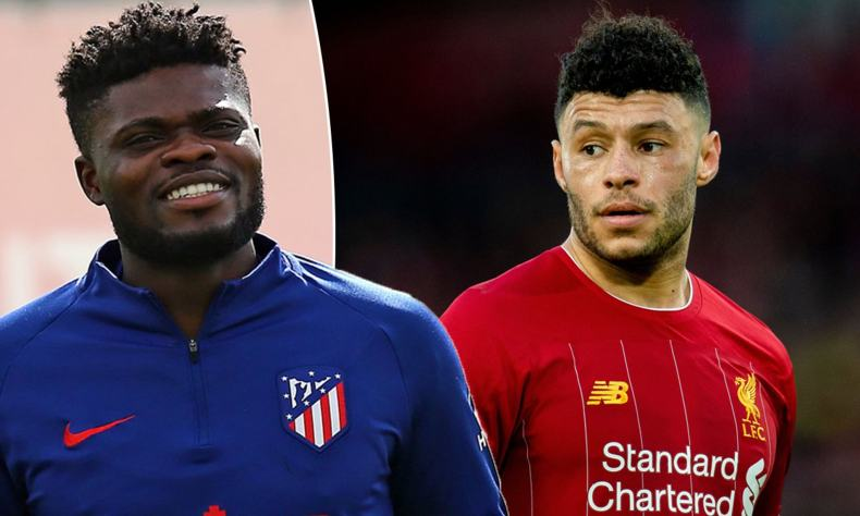 Atletico Madrid 'want to swap Partey for Oxlade-Chamberlain ...
