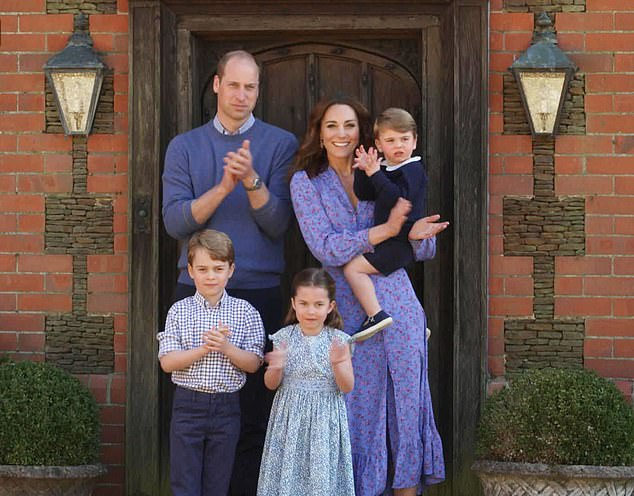 The Cambridges spent lockdown isolating at Amner Hall, in Norfolk, with Prince George, 6, Princess Charlotte, 5, and Prince Louis, 2, and aren't recruiting for their household