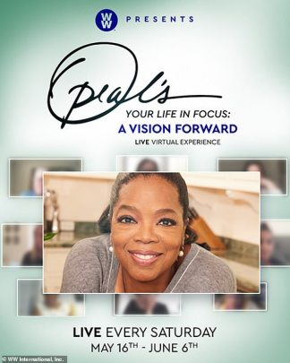 Oprah Says she Will Livestream her Wellness Tour for Free on Zoom Every Saturday, May 16th thru June 6th