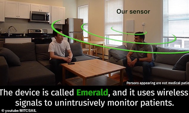 Emerald is a separate system using similar technology to monitor breathing and other biometrics of patients recovering from COVID-19
