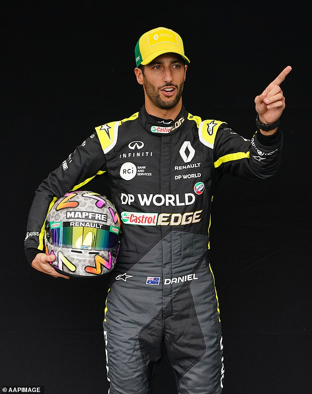Ricciardooriginally moved from Red Bull to Renault in 2018 after an unreliable car saw him retire from a string of races but he has yet to win a single race under the French team