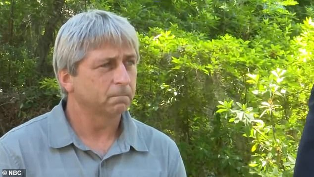 Pictured:William 'Roddie' Bryan, a neighbor of the father and son who killed Ahmaud Arbery, who filmed the shooting in Satilla Shores, Georgia