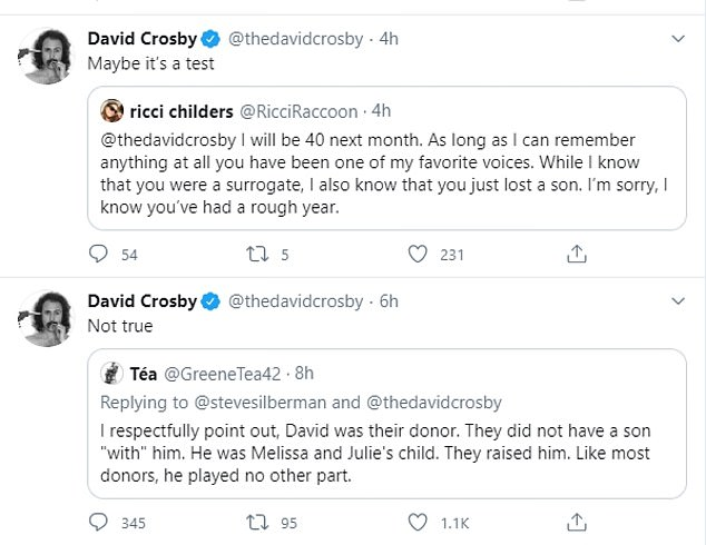 Setting the record straight: David denied playing
