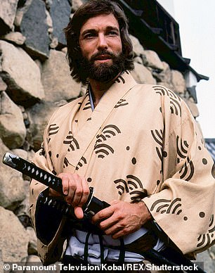 Chamberlain playing Adams in Shogun, the 1980s TV series