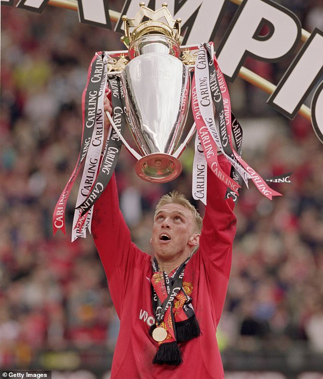 Chadwick lifted the Premier League trophy with United in the 2000-2001 season