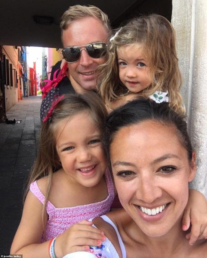 Jennifer Bailey, 42, who is CEO of Carla shoes, wants to keep her two daughters, who have five and seven, in education without disruption and is looking forward to the girls going back to school