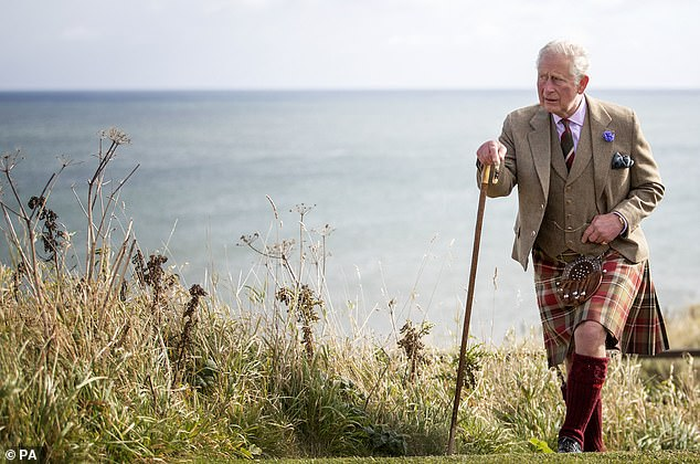 Prince Charles, pictured, was infected by Covid-19 but was soon able to defeat the killer virus