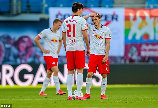 Lepizig could only draw 1-1 with Freiburg at home to lose further ground in their title hopes