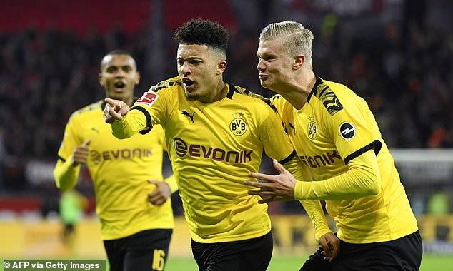 Sancho has stormed the Bundesliga with 14 goals and 16 assists this season, so far