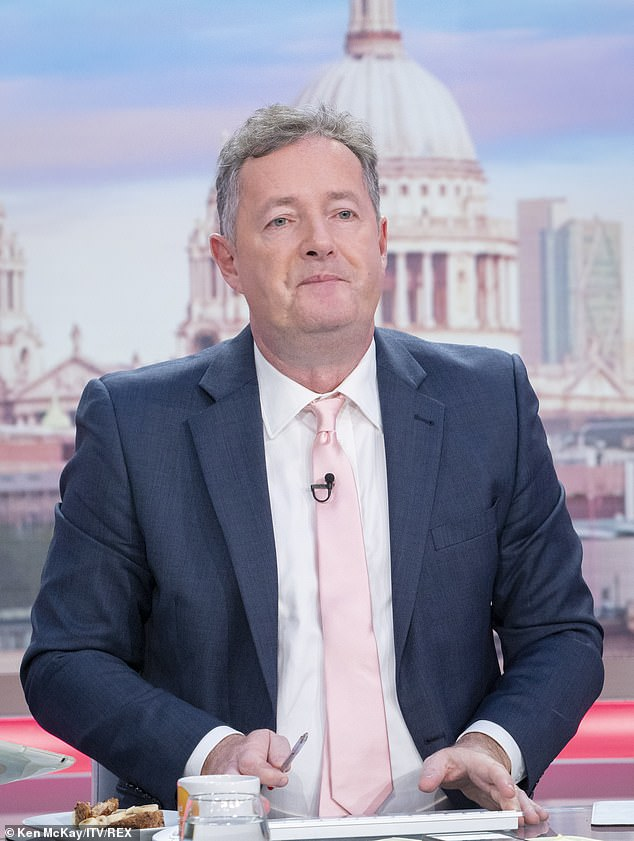 Piers Morgan has given an update on Kate Garraway's husband.