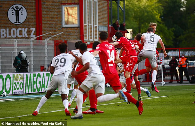 Benjamin Pavard met Joshua Kimmich's 80th minute corner to seal the win for Bayern