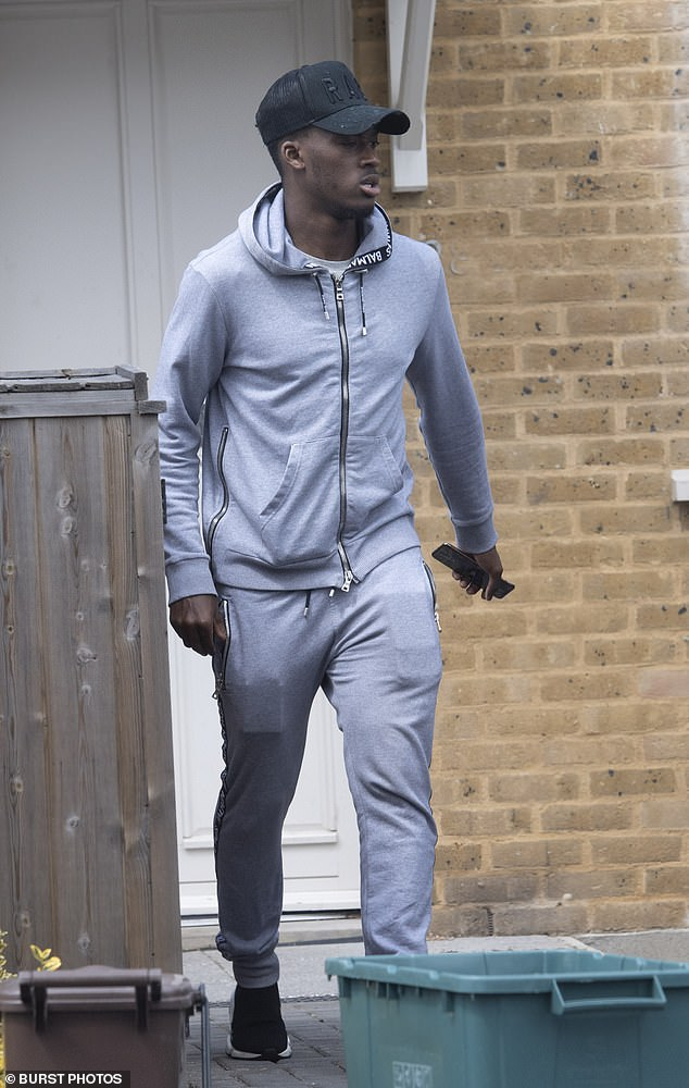 Police attended Hudson-Odoi's apartment after a model he met online rang an ambulance