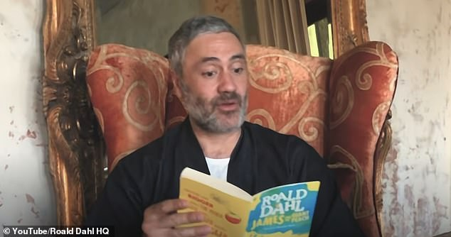 Fundraiser:Taika (pictured) aims to read the entire book with different celebrities over 10 episodes this month, raising money for Partners in Health amid the coronavirus pandemic