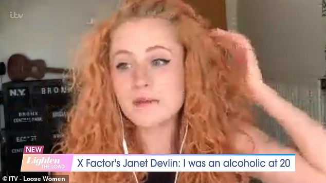 She appeared on Loose Women today where she said that after moving to Sheffield alone at the age of 17, she started drinking to hide her crippling shyness