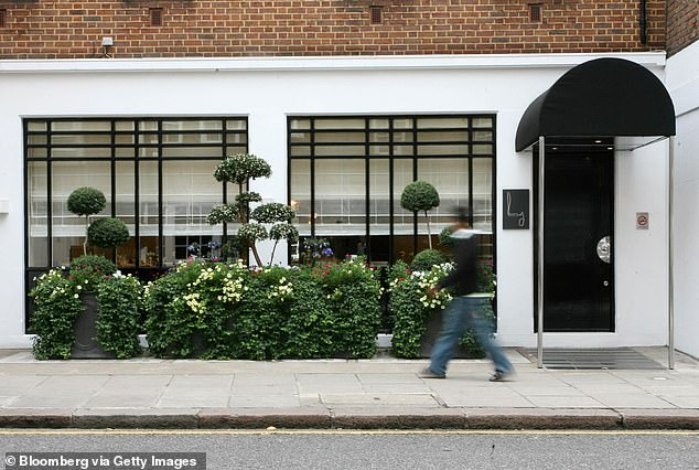 Businessman: Gordon has several restaurants across London and is planning to open more around the world (Restaurant Gordon Ramsay restaurant pictured)