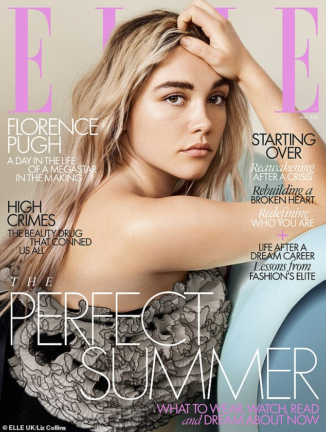 Defiant: In the new June issue of Elle UK, Florence responded to critics by saying,