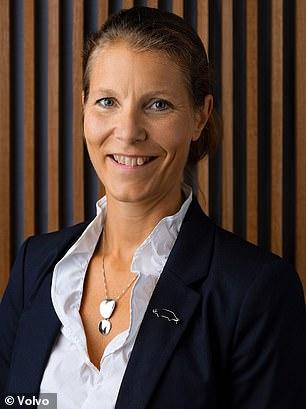 Malin Ekholm, chefe do Volvo Safety Center
