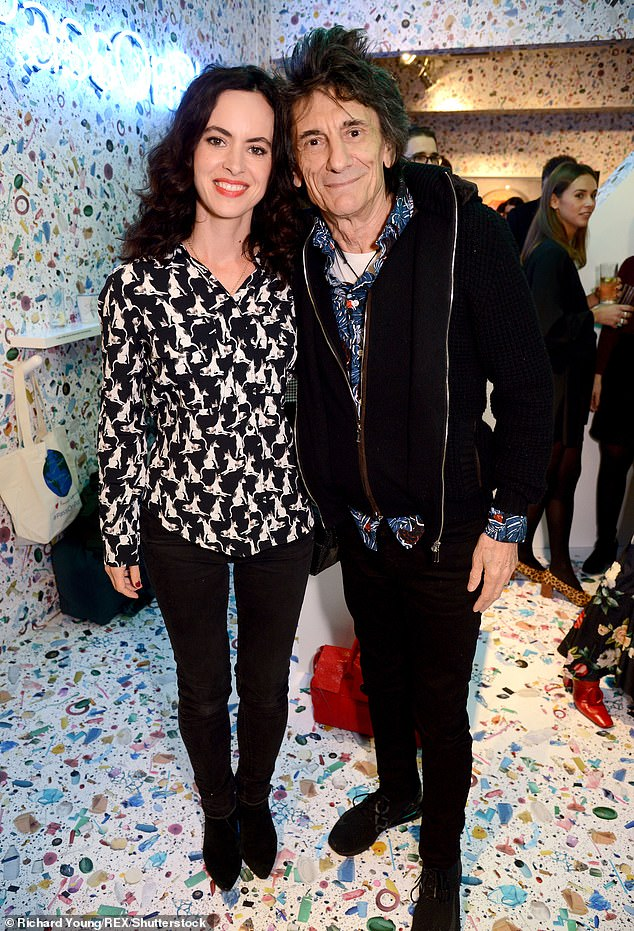 Family: Ronnie married his third wife Sally Humphreys, 42, in 2012