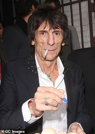 Time goes so quickly: In the video, Ronnie candidly spoke about turning 70 and admitted that it was 'surreal' as he didn't expect time to pass him so quickly (pictured in 2012)
