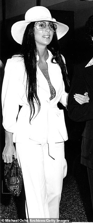 Cher has been flattered calling Kim 'my little Armenian sister' in 2017 (pictured in 1973)