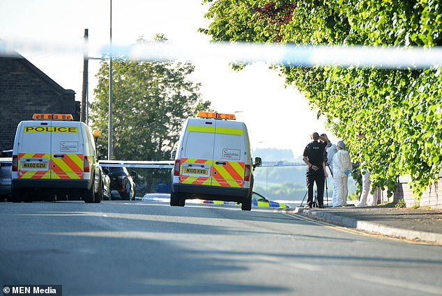Officers yesterday arrested a36-year-old man on suspicion of murder and attempted murder
