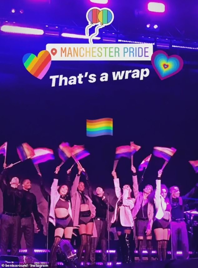 Return: Ariana returned to Manchester for the first time in two years while performing at the Manchester Pride event at Mayfield Depot in August.