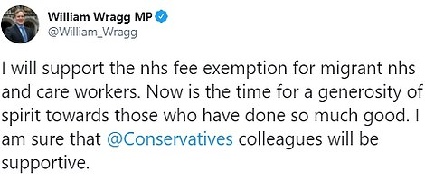 Tory MP William Wragg, chair of the Public Administration select committee, led a backlash from Mr Johnson's own side