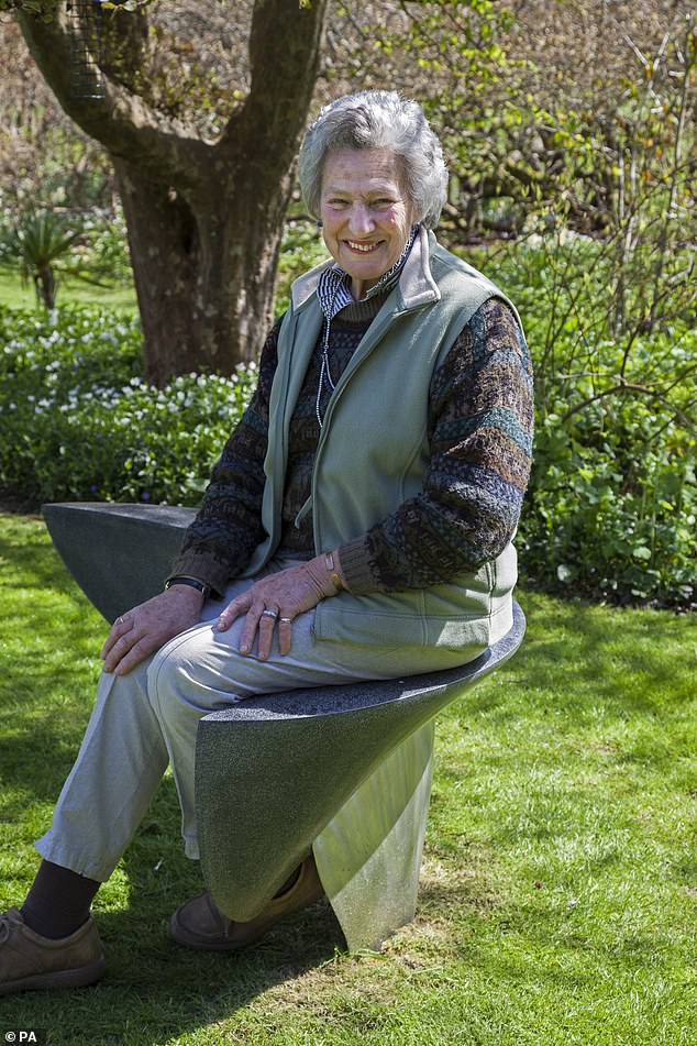 St Paul's community has experienced loss during the pandemic with the mother of Oliver Caroe, surveyor of the fabric of the cathedral, dying on April 5 aged 81 due to Covid-19. Pictured: Mrs Caroe