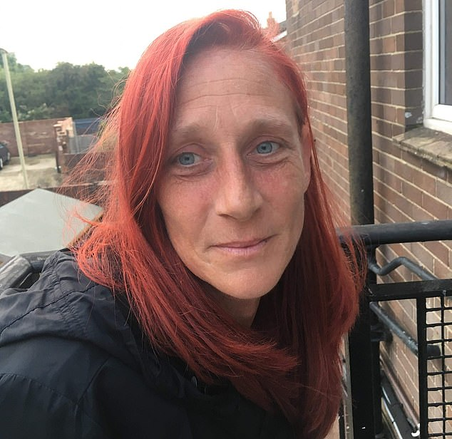 Rebecca Cooper (pictured), 39, changed her social media picture to one of her daughter and posted information about her on Wednesday