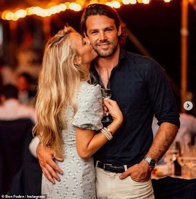 Newlyweds: Ben married Jackie aboard a luxury yacht in Nantucket, Massachusetts, in August 2019, although the couple have only known each other for a few weeks