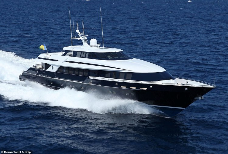 In 2015, Octopussy underwent a complete refit and is now 44m (144ft) in length. Pictured is the updated version of the yacht