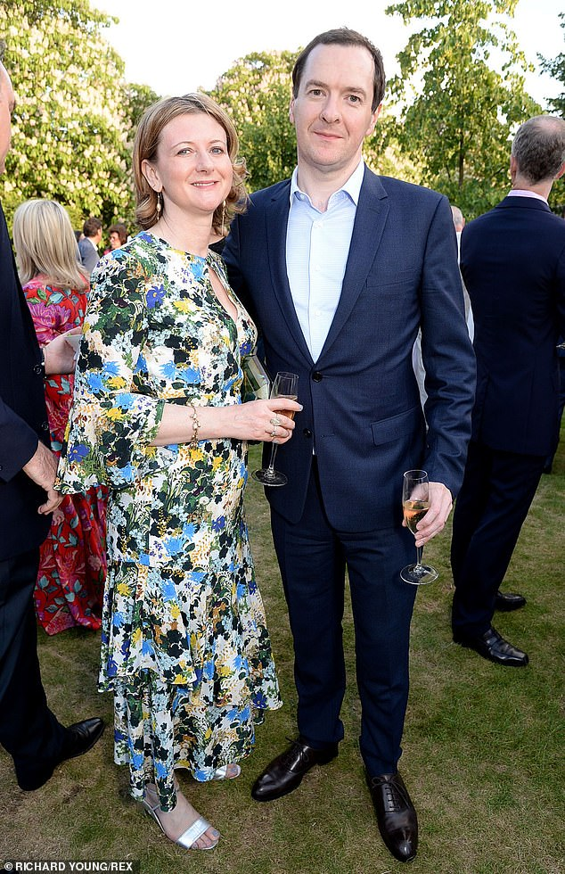 Mr Osborne, the former editor of the Evening Standard, announced in 2019 that he had separated from his wife Frances, 52