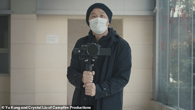 Yu Kung (pictured), who grew up inHorley, Surrey, has offered the Western audience with an intimate insight into the struggle of everyday folks in Shanghai during the coronavirus crisis