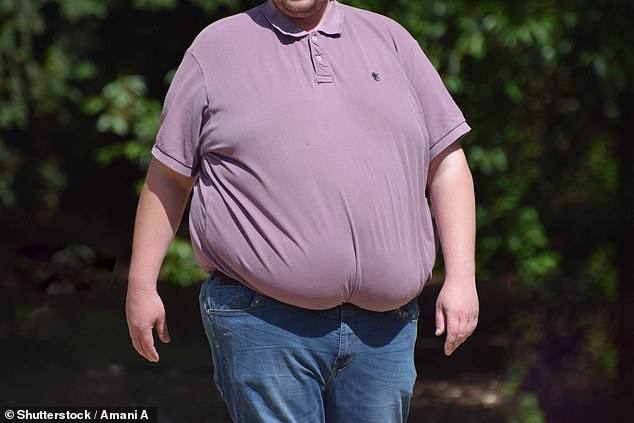 Two in three Britons admit they have piled on the pounds during the two-month coronavirus lockdown (file)