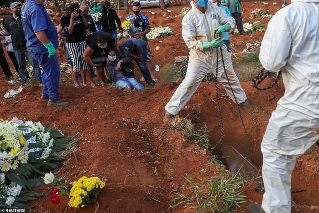Brazil is the worst affected country in South America, which has been declared a new 'epicentre' for the disease by the World Health Organzation