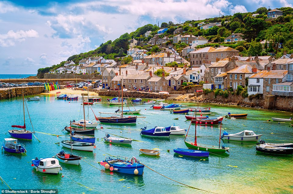 The pretty village of Mousehole in Cornwall is home to The Old Coastguard, a family-run hotel with mesmerising ocean views