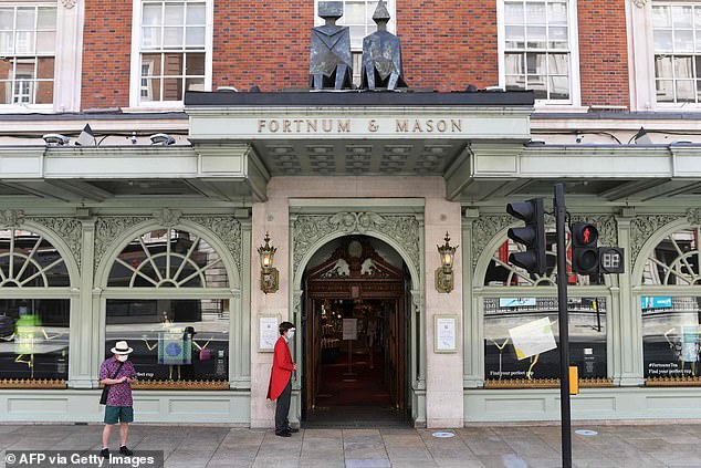 The store's headquarters at 181 Piccadilly was established in 1707 by William Fortnum and Hugh Mason