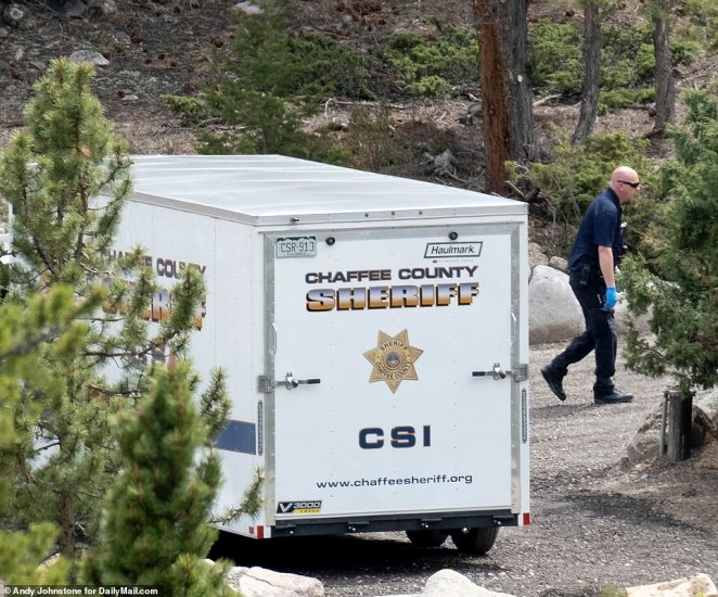 The Chaffee County Sheriff's Department had been looking for Suzanne in two-mile 'targeted blocks' on either side of her home but did not conduct a search on Monday