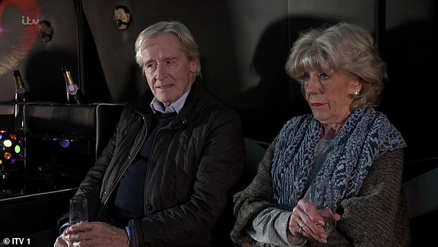 Worried: Emerdale and Corrie stars `` fear being ripped off from soap in the midst of the COVID-19 crisis, '' it was said on Saturday (photo by Bill Roache and Sue Nicholls in Coronation Street)
