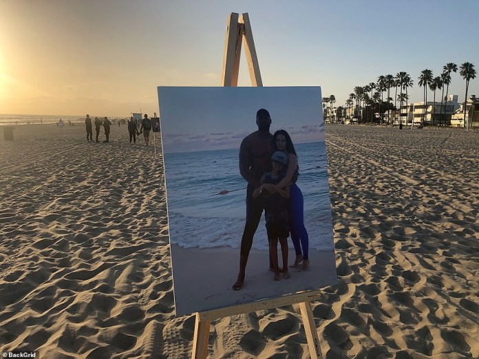 The Gaspard family is represented in the photo presented on Venice Beach. Gaspard was best known as a member of the Cryme Tyme wrestling team with fellow WWE JTG star