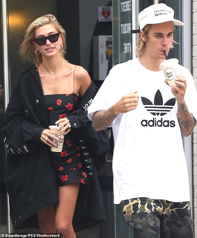 Meant to be:Hailey and Justin, who are back in Los Angeles after quarantining in Canada together, married in a courthouse in New York in 2018, followed by a more lavish ceremony in 2019