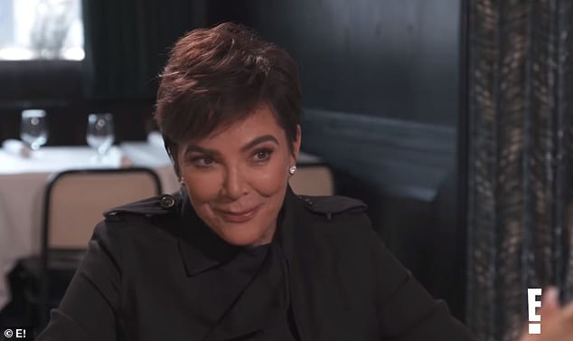 Confessing: 64-year-old Kris Jenner shocks her boyfriend over lunch admitting that she is `` always in the mood '' for sex with boyfriend Corey Gamble, 39, in a new episode of Keeping Up with the Kardashians