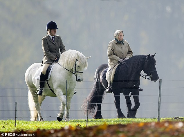 A devoted team of 22 staff are working to provide a protective shield around Queen Elizabeth