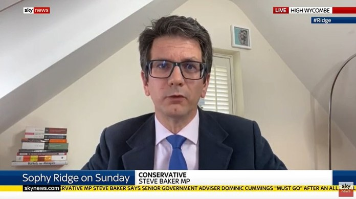 Steve Baker, a former Brexit minister and a die-hard Brexiteer like Mr. Cummings, broke the cover to demand the advisor's dismissal, demanding that the Prime Minister `` take back control '' of the wiggling events within his reach.